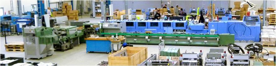 工場内部の画像