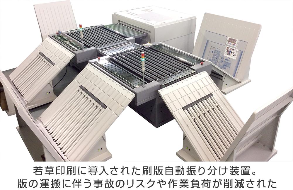 刷版自動振り分け装置