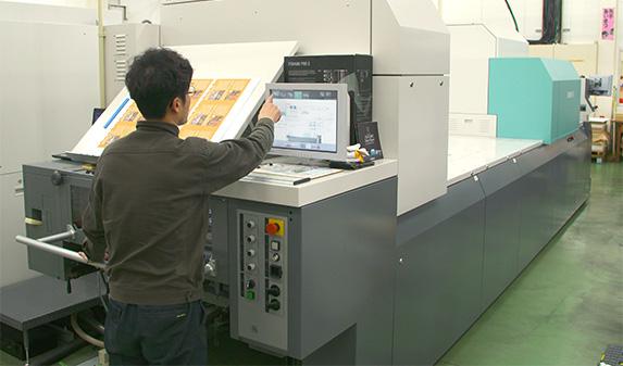 Jet Press 720Sは、印刷現場だけでなく社内全体に変化をもたらしている