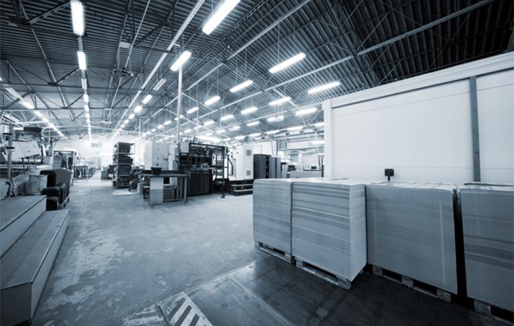 印刷工場の画像