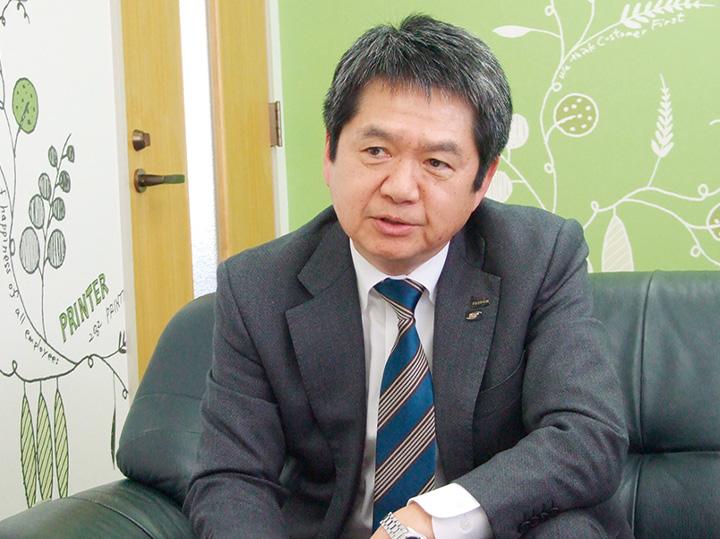 富士フイルムグローバルグラフィックシステムズ株式会社 取締役 常務執行役員 中森 真司