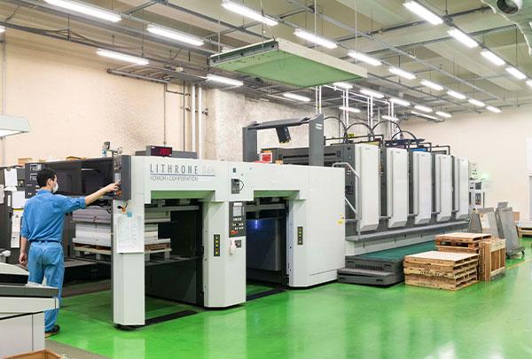 戸田工場_印刷現場の画像